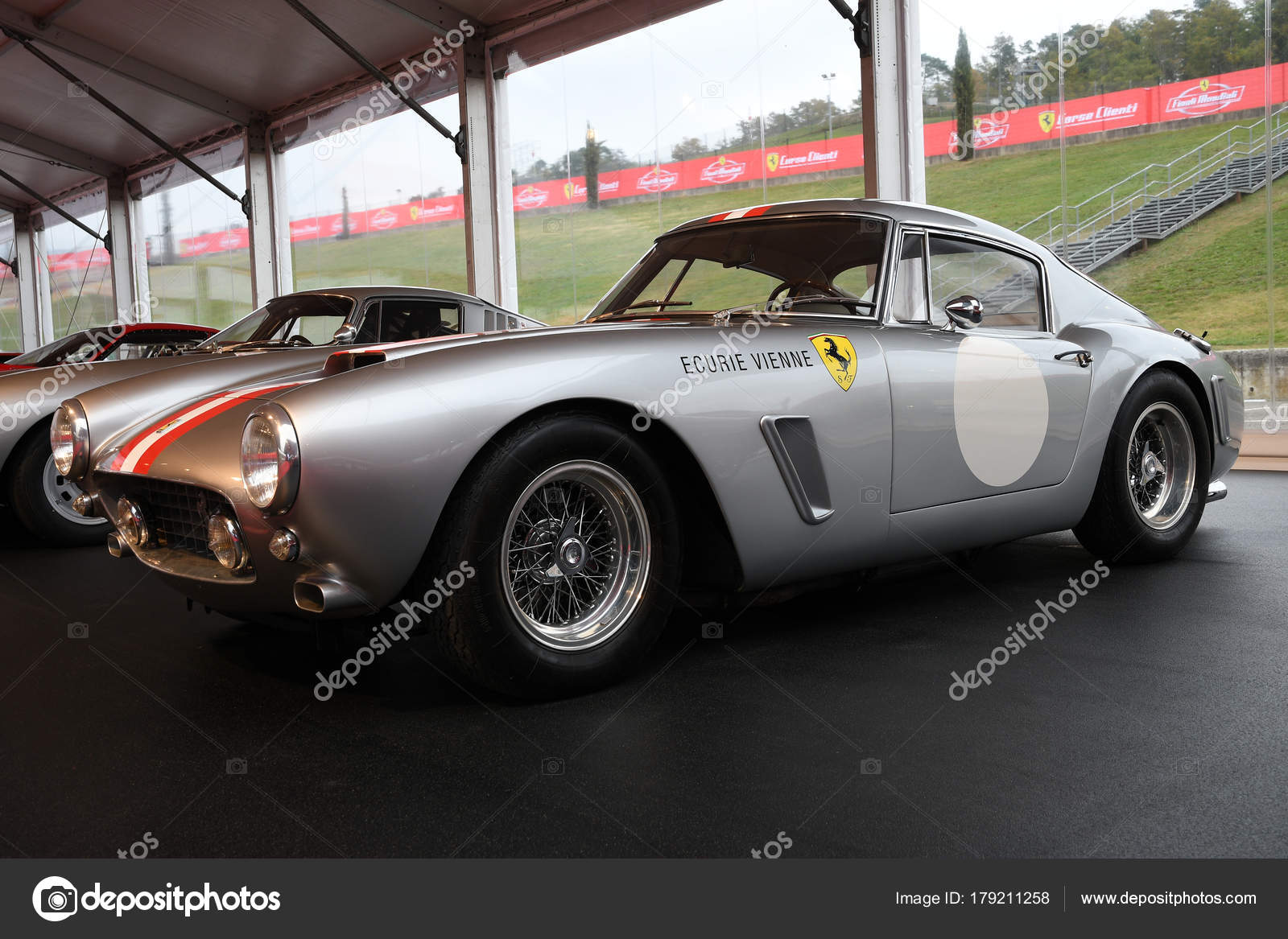 Mugello October 2017 Vintage Ferrari 250 Berlinetta Passo Corto 1961 Stock Editorial Photo C Dan74 179211258