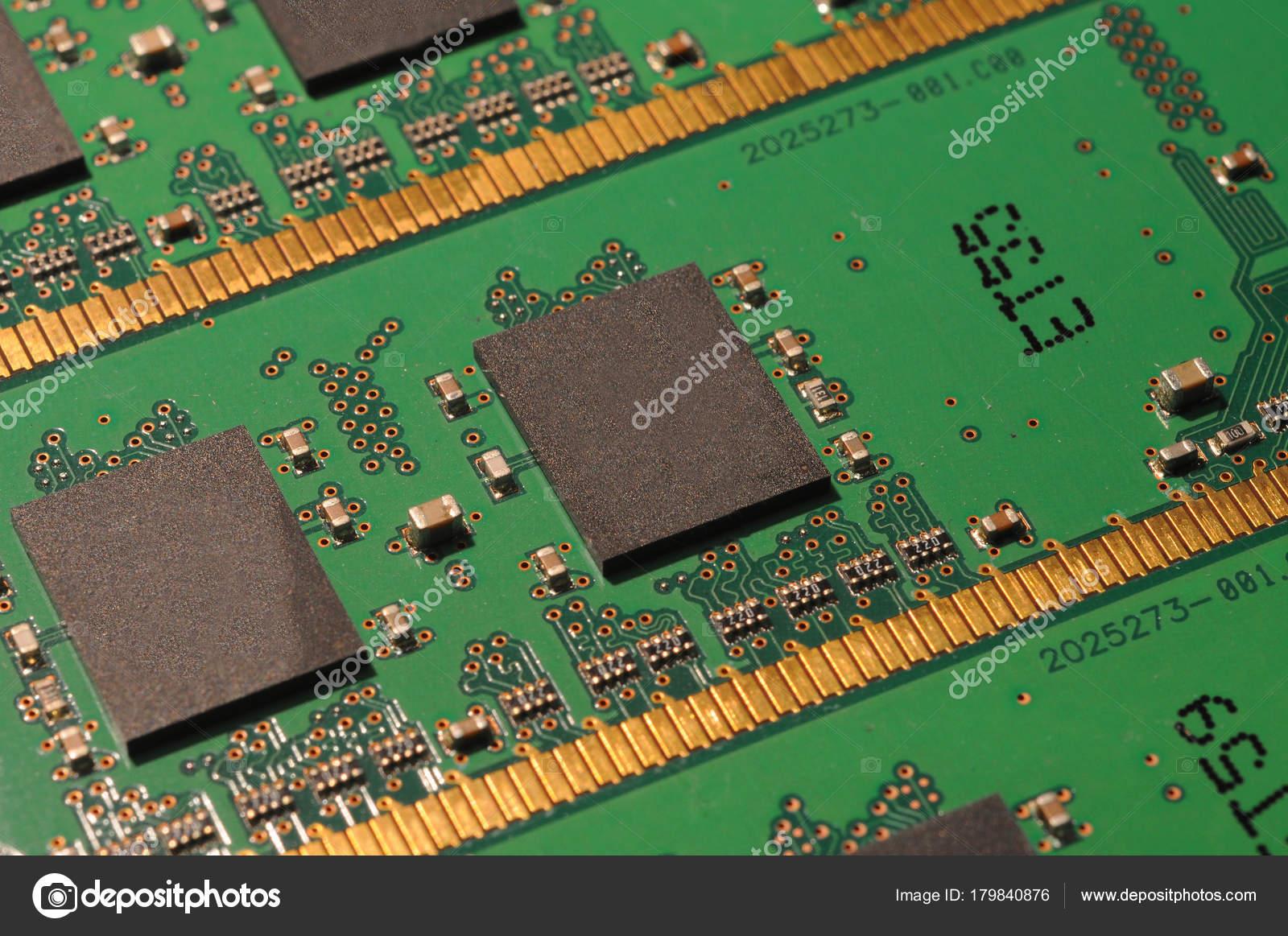 Obsoletos Los Módulos Memoria Ram Foto De Stock Dan74