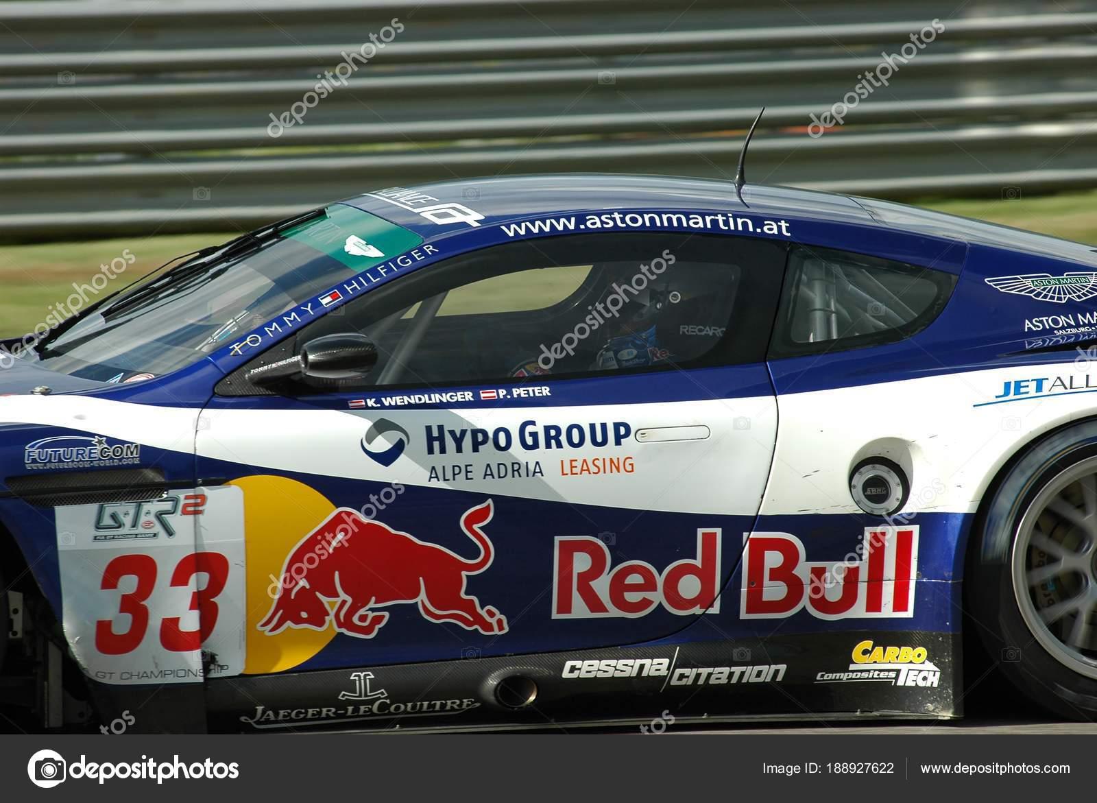 September 2006 Aston Martin Dbr9 Gt1 Race Alliance Motorsport Team Stock Editorial Photo C Dan74 188927622