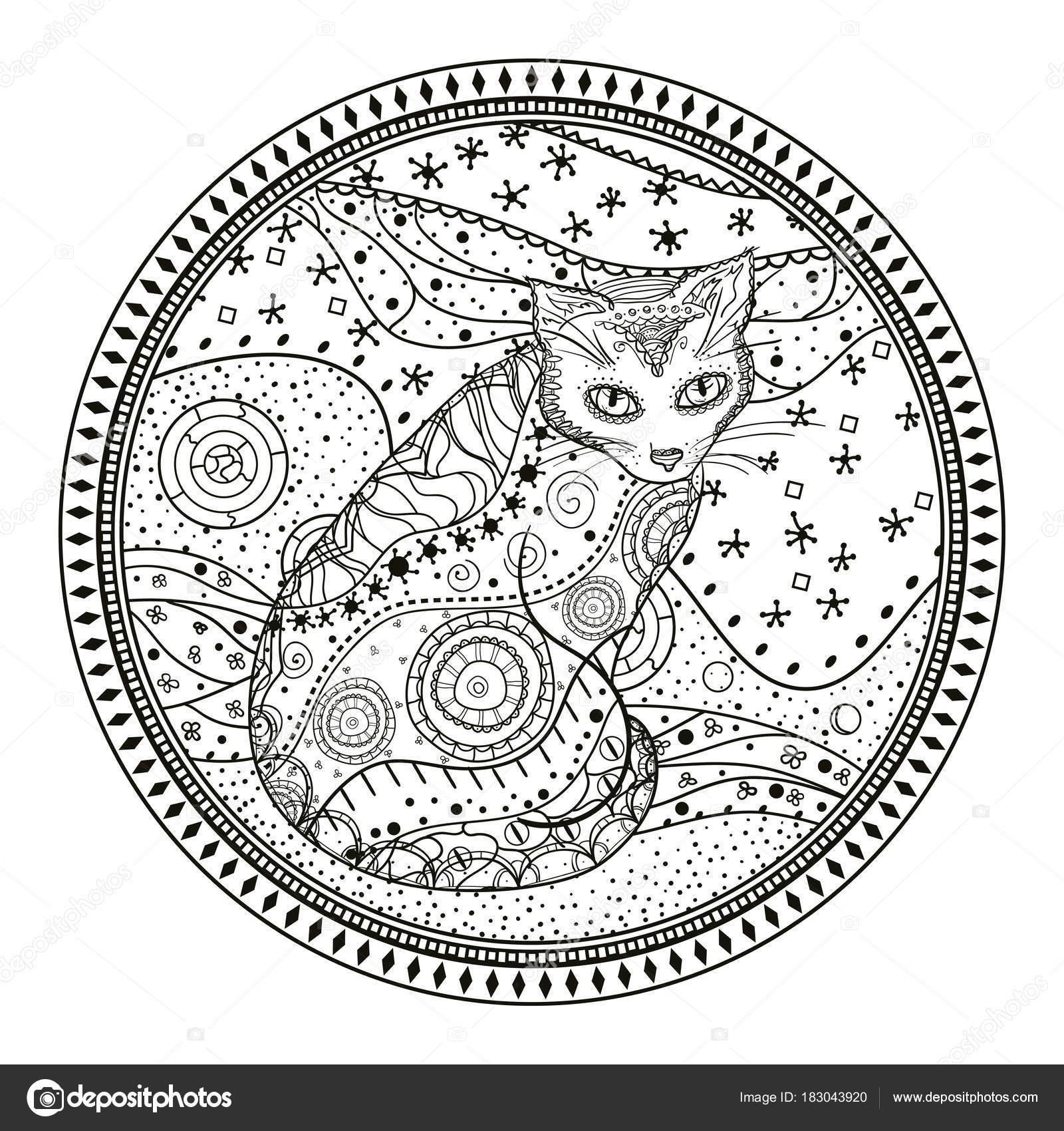 Imágenes Astrolabios Para Colorear Ilustración Creación