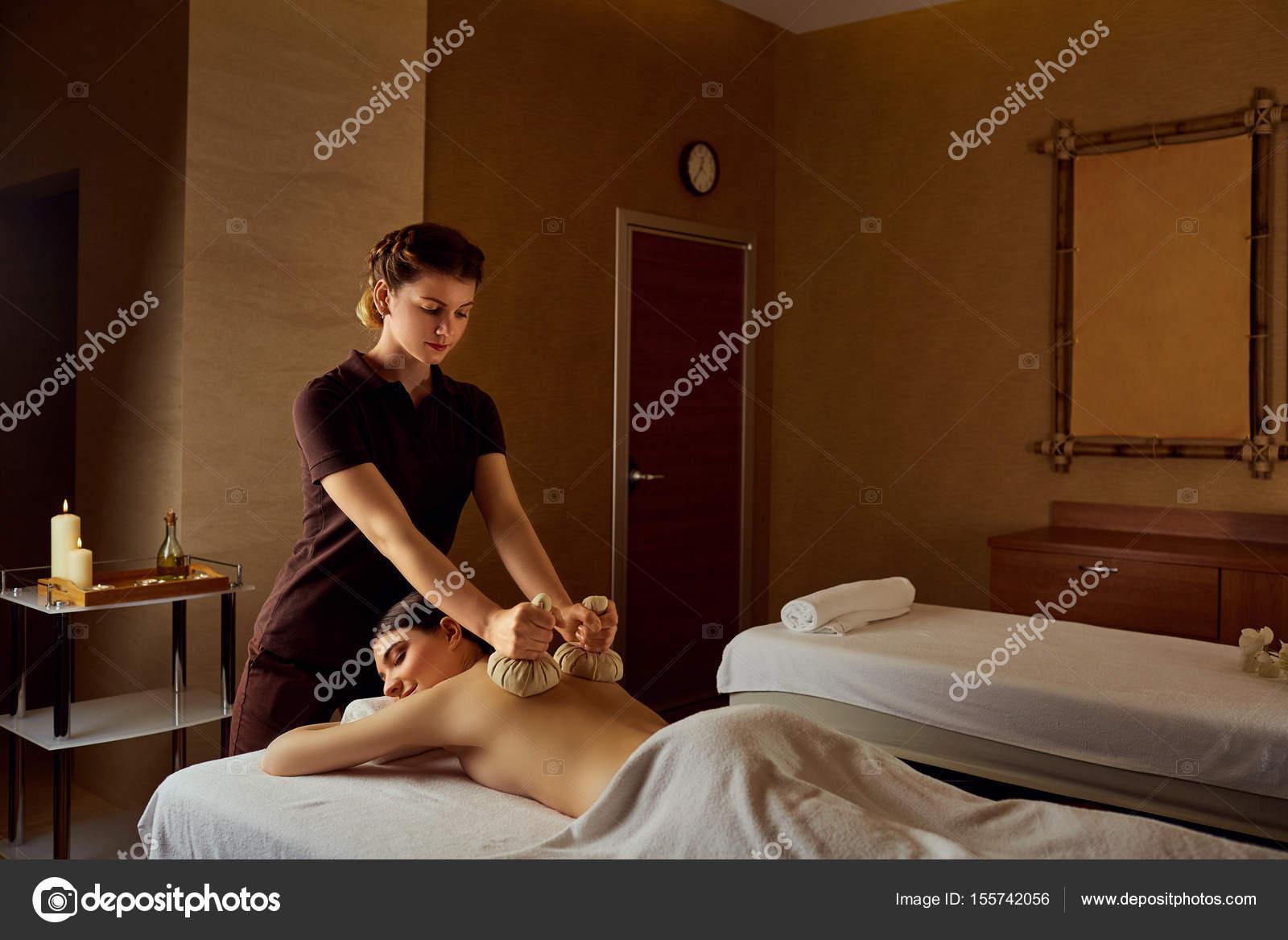 Girl on girl body massage
