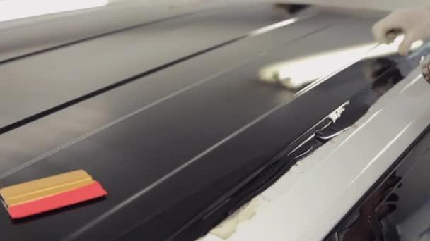 Dělníci vyhřívané garáže fén kontinuální povrchu vinyl.