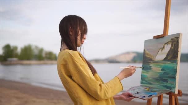 Žena malba olej obrázek s inspirací a vášeň