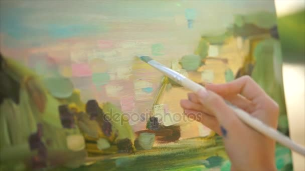 Dotyků impresionistické malby en plein air