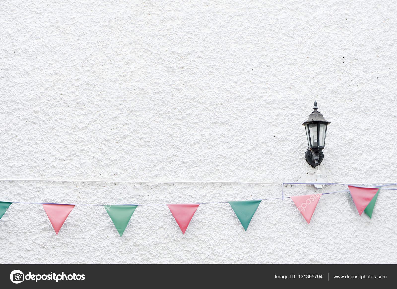 Bandiere di festa di natale merry bunting appeso sulla parete