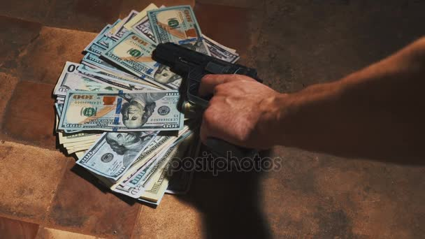 Geld und einen Revolver. Strafrechtliches Konzept