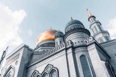The Grand Cathedral Mosque in Moscow
