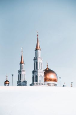 The Grand Cathedral Mosque during winter