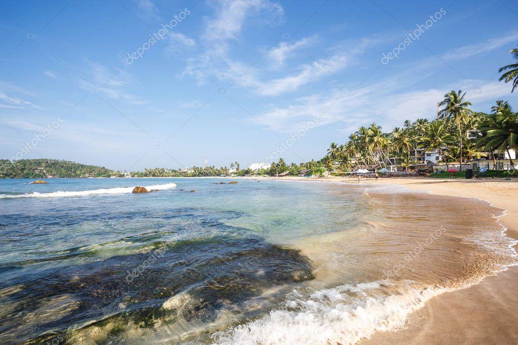 Beautiful tropical beach.