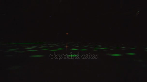 Abstract background with disco floor. Technology colorful backdrop