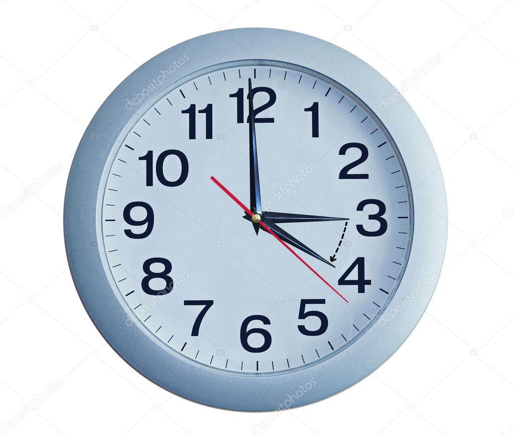 Ізольована електронні настінні годинники. Йде на літній час — Фото від  FreedomMaster 70412c8045a63