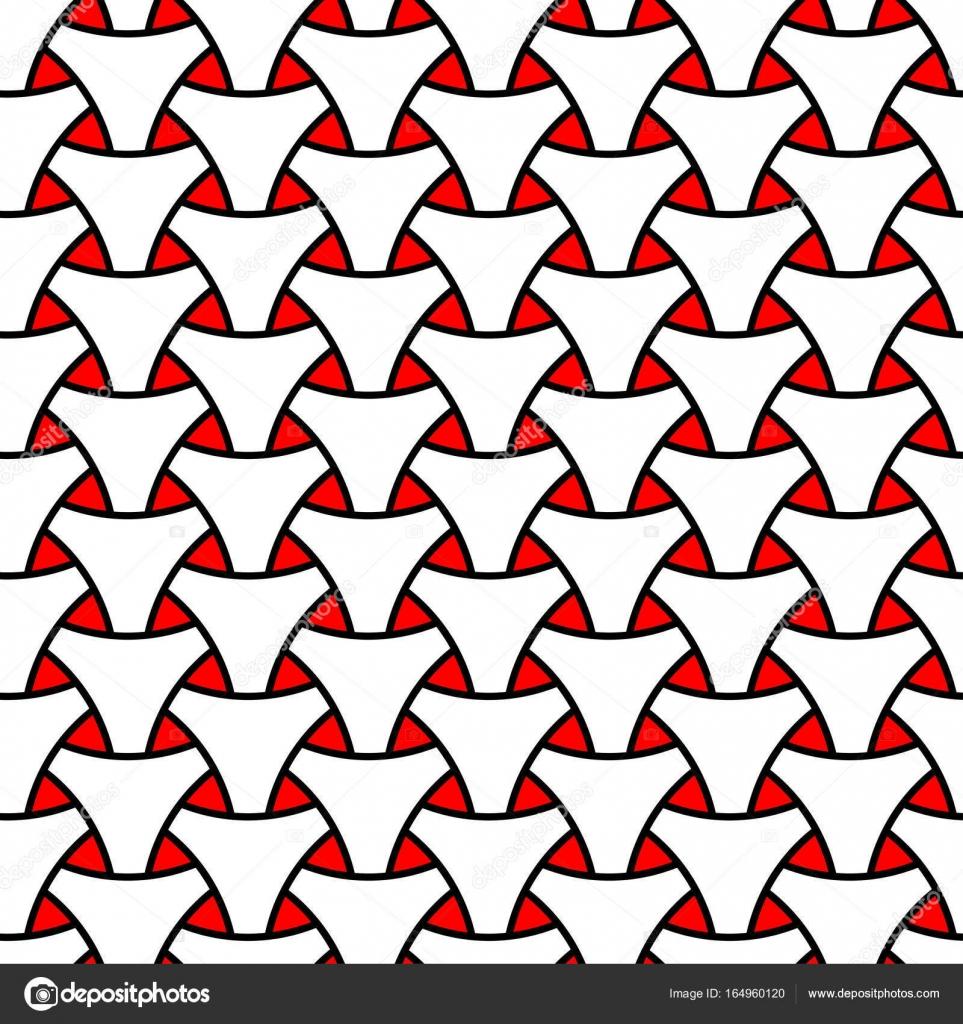 Tejido en telar triángulo escama superficial de patrones sin fisuras ...