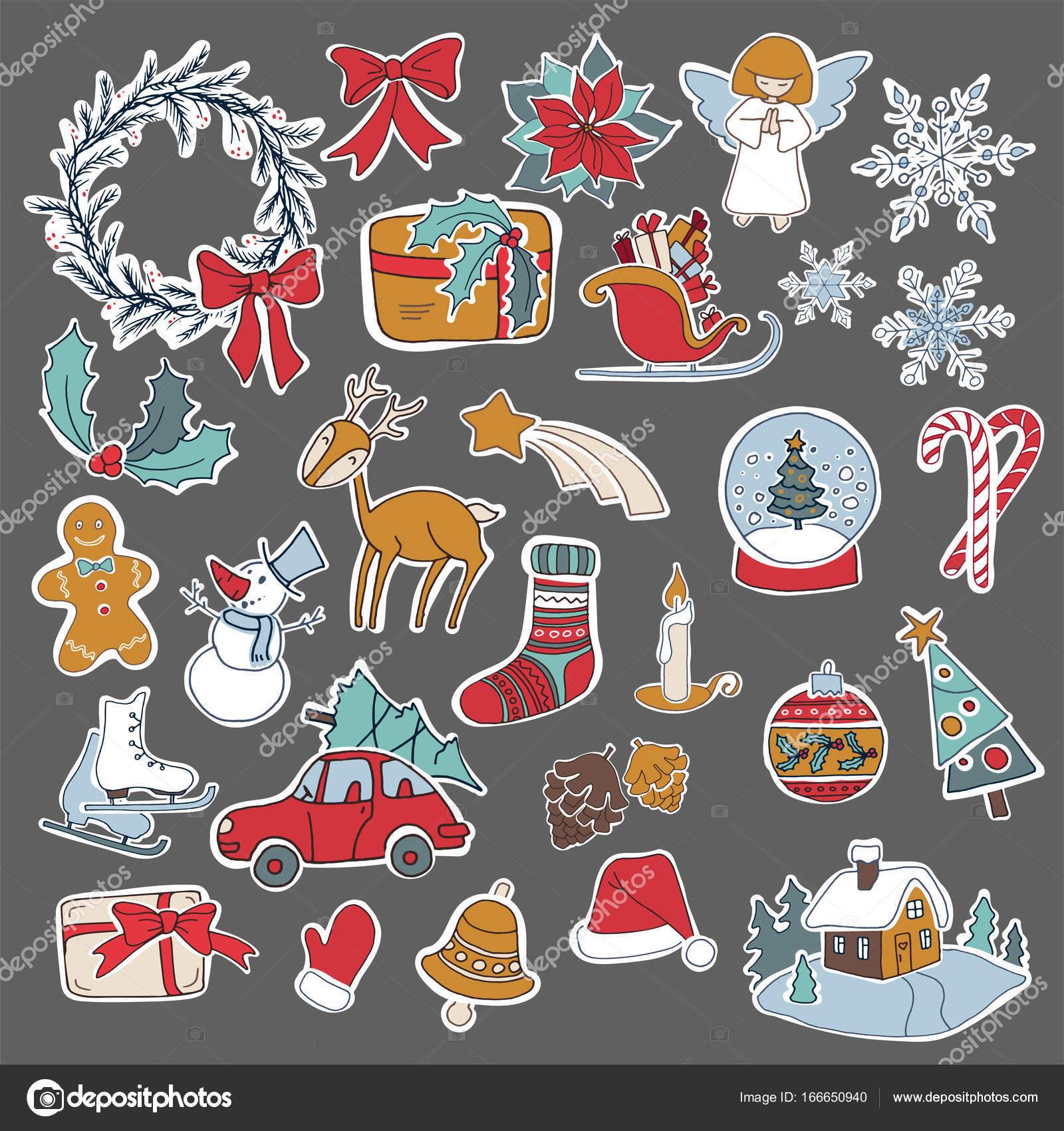 mézeskalács adventi naptár letölthető sablonnal Karácsonyi szappan készlet ikon elemek használható advent — Stock  mézeskalács adventi naptár letölthető sablonnal