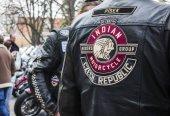 Výšivka loga indické motocykl skupiny jezdců na Moto bunda