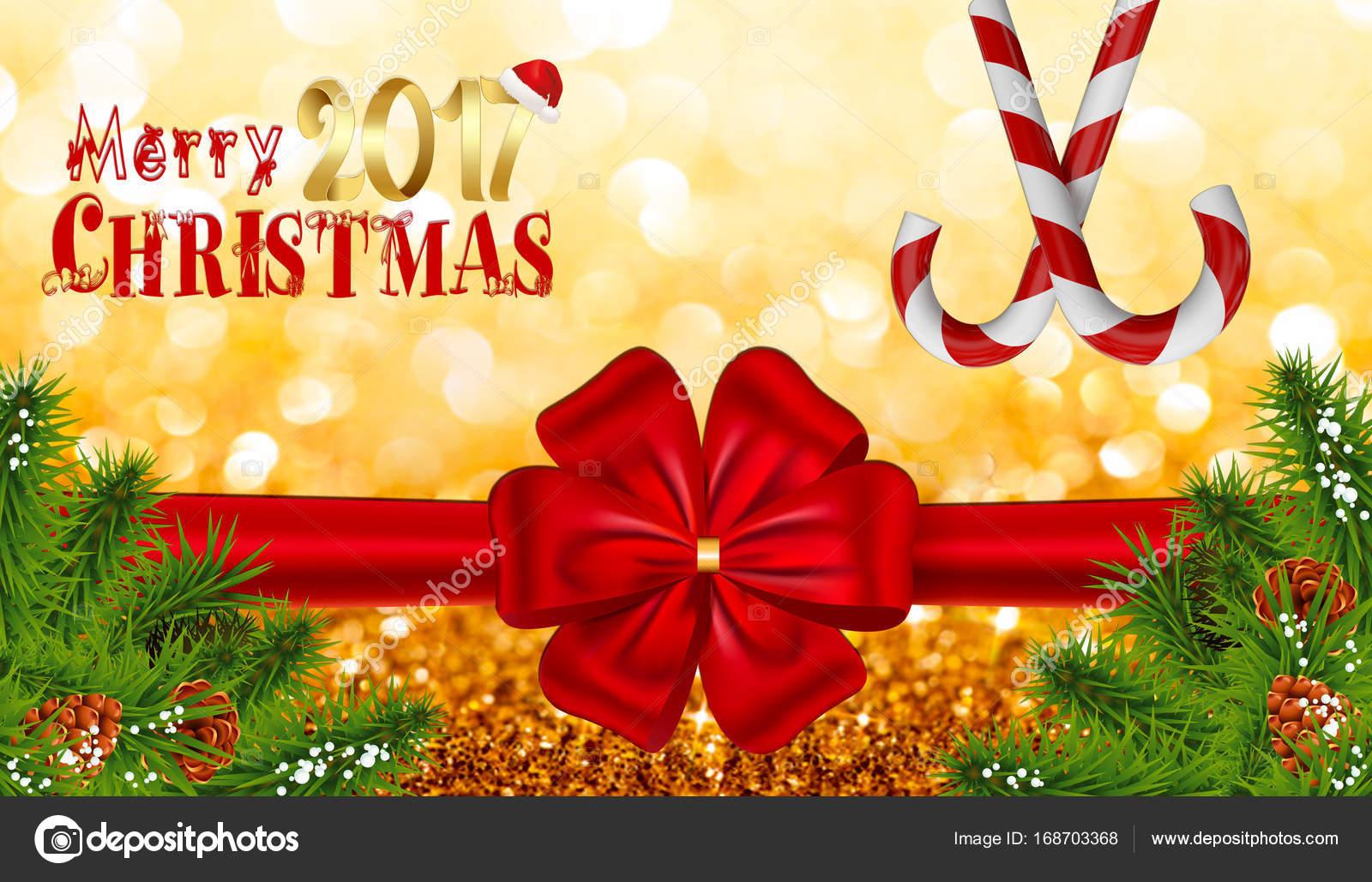 Frohe Weihnachten Text Karte.Frohe Weihnachten Text Karte Mit Bokeh Hintergrund