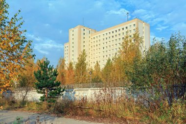 Building of the FSB Special Operations Center in city Balashikha, Moscow region, Russia.