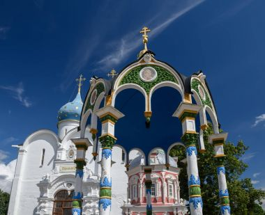 Trinity Lavra of St. Sergius. Sergiyev Posad, Golden ring, Russia