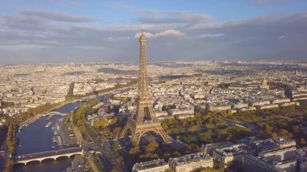 panoráma města Paříže