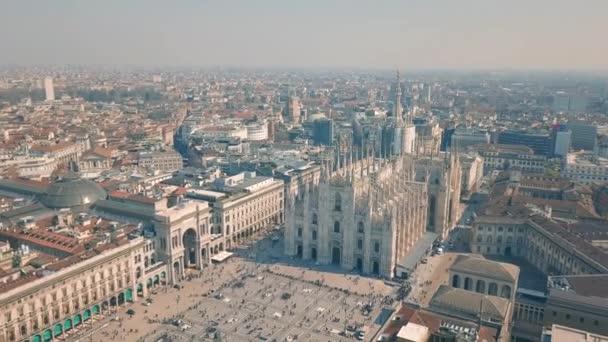 Vista aerea del Duomo di Milano