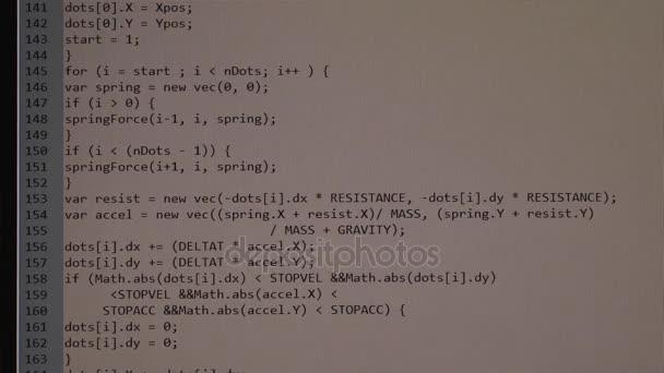 El Proceso De Escribir Un Programa De Computadora En Una Pantalla De