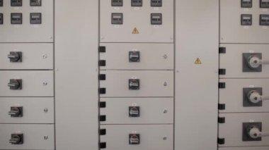 switchboard room on the enterprise — Stock Video © utaem2016.gmail ...
