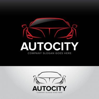car service and repair logo
