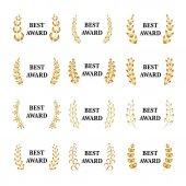 Fotografie Best awards illustration