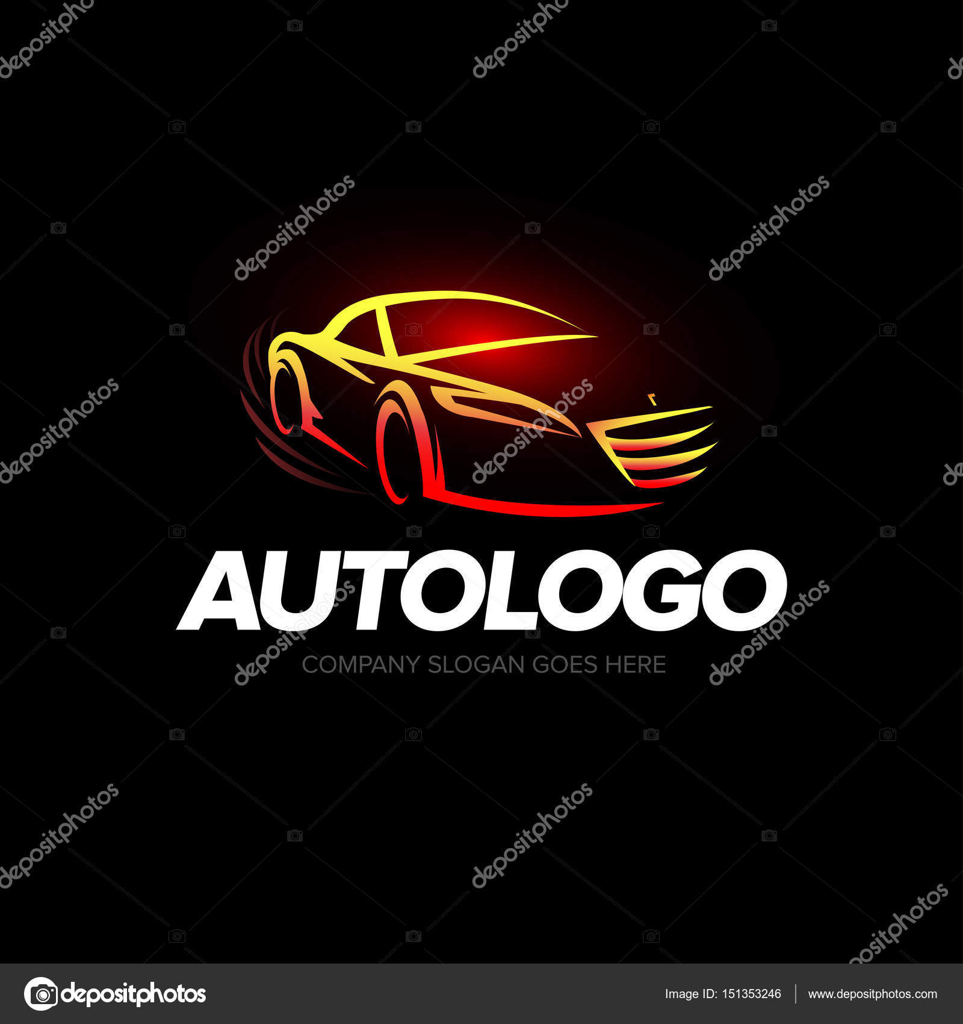 Plantilla de Logo auto — Vector de stock © ideasign #151353246