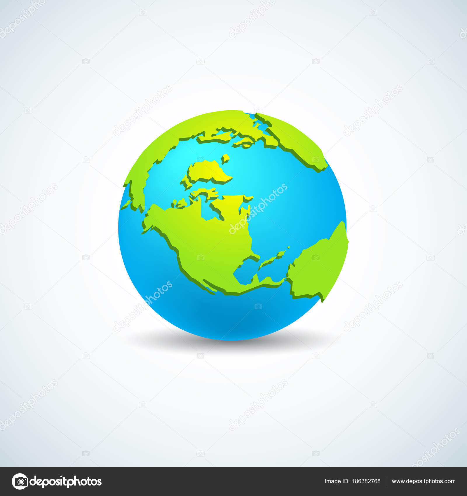 Modern world map concept isolated transparent background world modern world map concept isolated transparent background world planet vector stock vector gumiabroncs Gallery