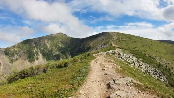 Mountain climbing POV