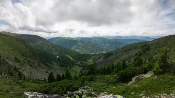 časová prodleva krásné horské krajiny