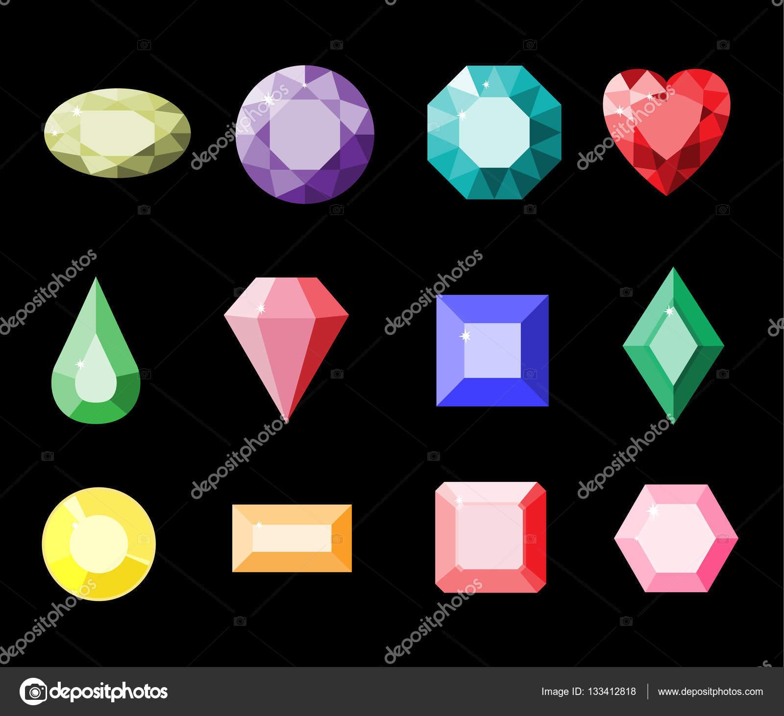Resultado de imagen de dibujo piedras preciosas