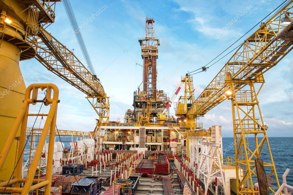 Offshore oil rig drilling platform/Offshore oil rig
