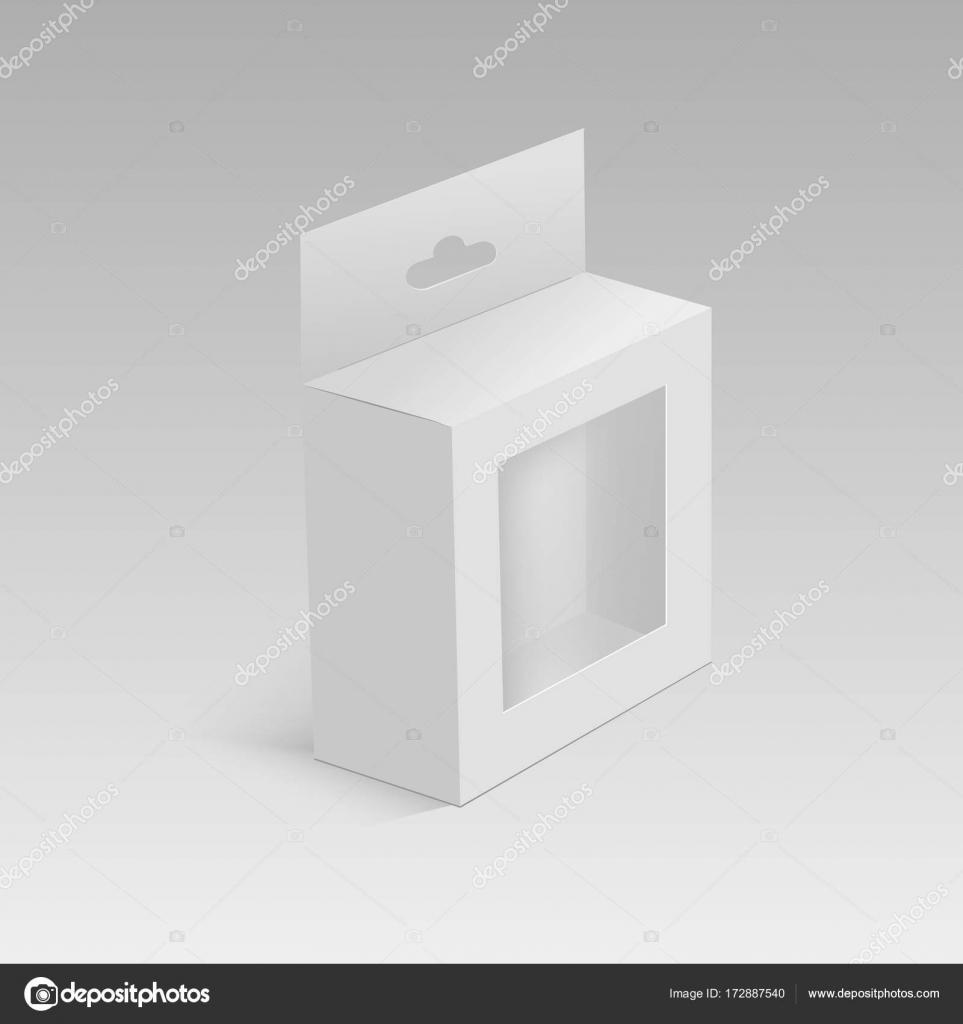 Пластик прозрачный блистер с повесить слот, пакет продукта.