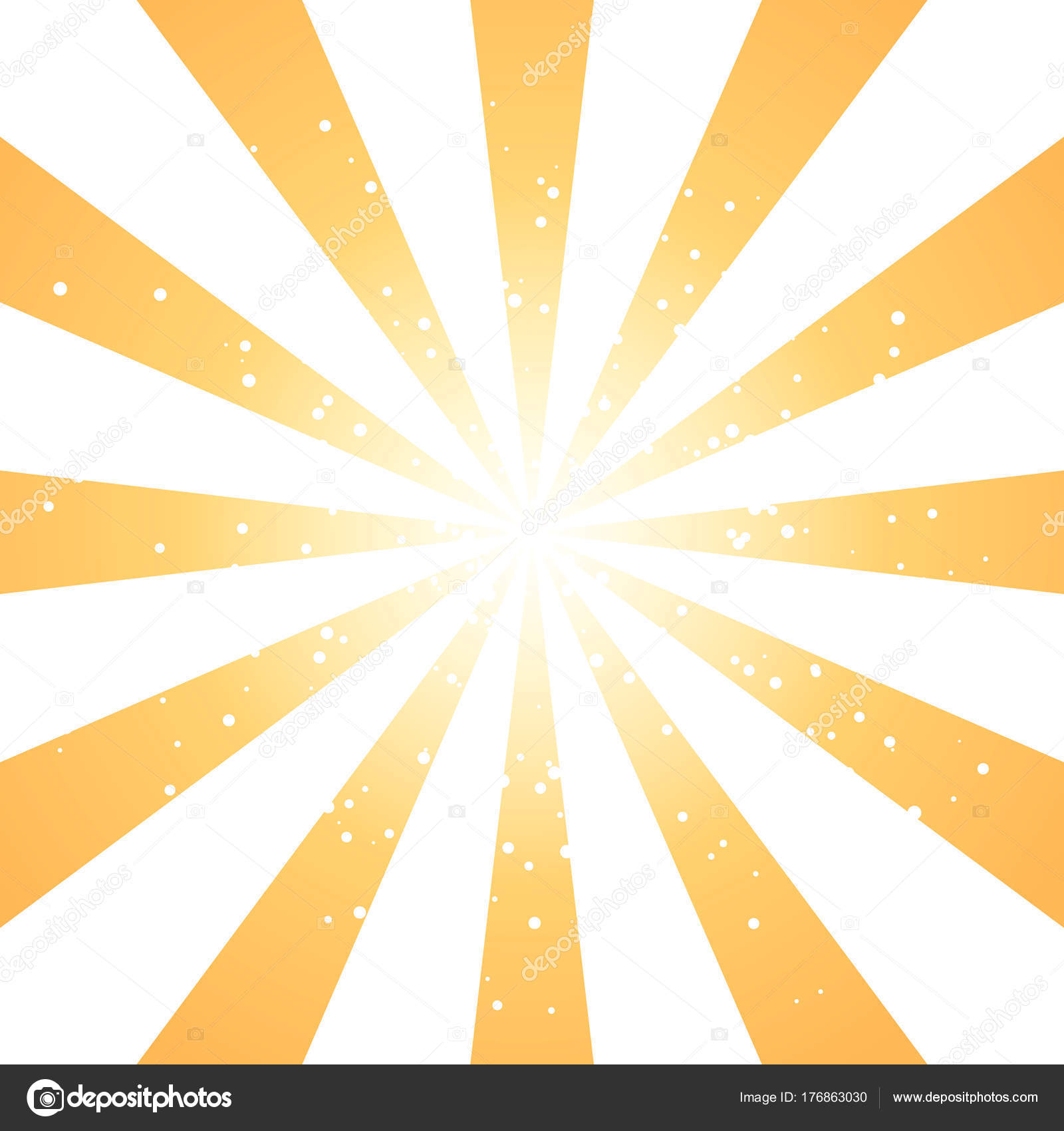 radial blue sun burst beams or sparkles on white background vector rh depositphotos com sunburst vector design vector transparent sunburst