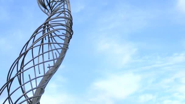 Socha žena v Belfastu, socha v Irsku, pomník a umění symbol