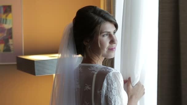 Krásná nevěsta čeká na ženicha