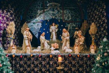 decoration of Jesus Christ born