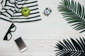 Fotografie Životní styl ranní koncept na stůl