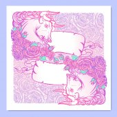 Photo Astrological Taurus square banner