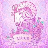 Photo Astrological Taurus isolated on white background.