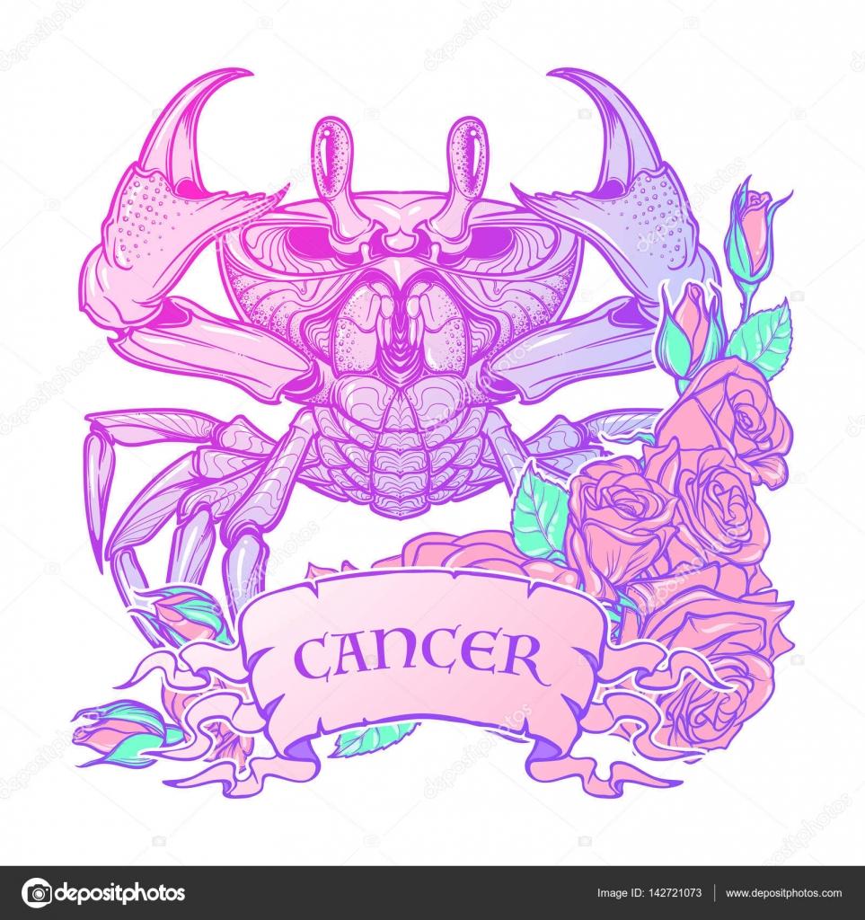 Знак зодиака рак цвета