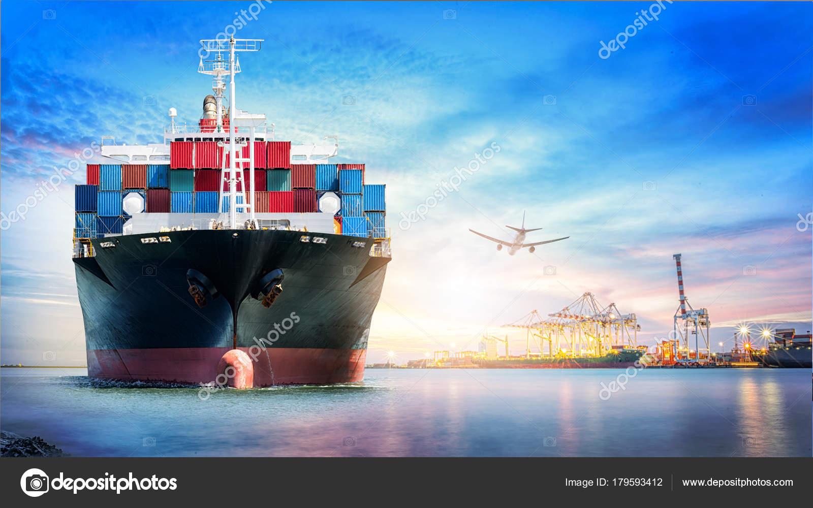 Logistics Transportation International Container Cargo