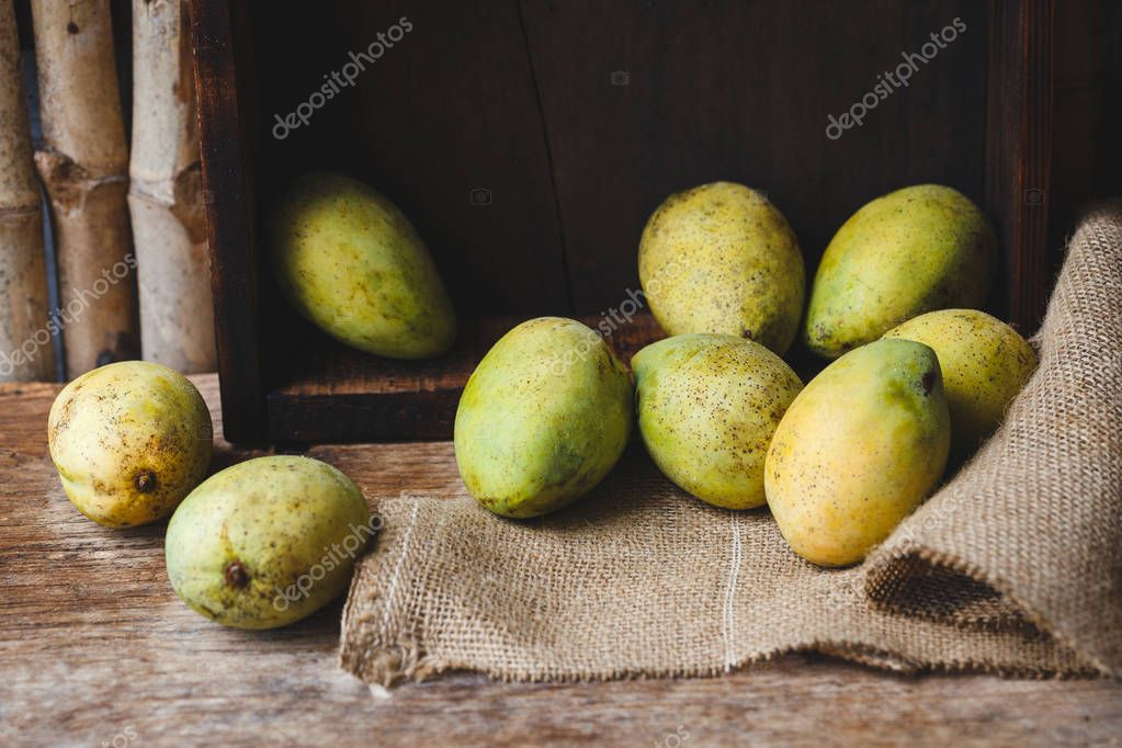 Ripe Mango Fruits