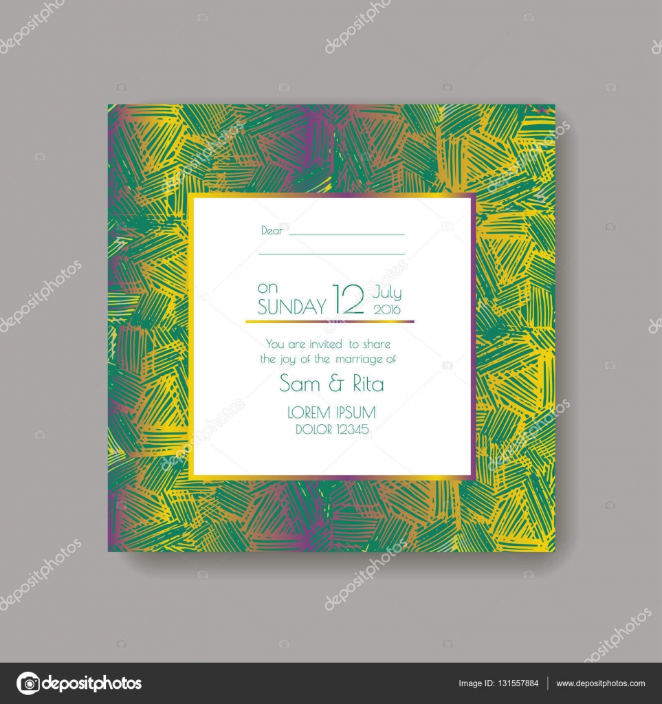 Shiny wedding card — Stock Vector © tekla pototska yahoo
