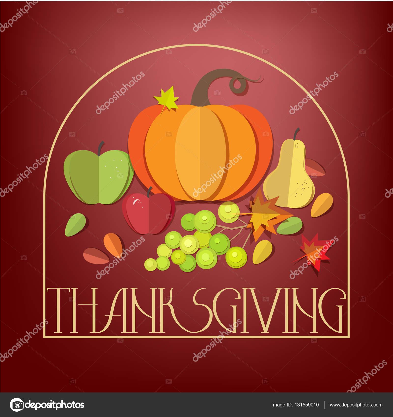 happy thanksgiving day elements set stock vector tekla pototska rh depositphotos com Happy Clip Art Yay Clip Art