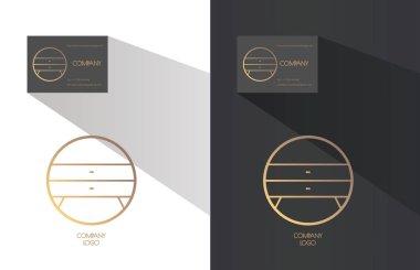 Interior designer brand identity.