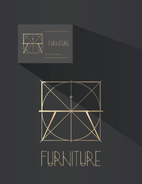 Furniture design company logo