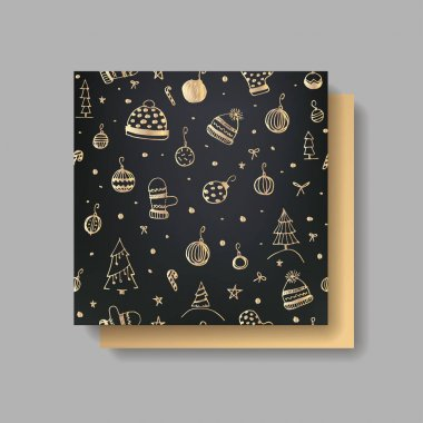 design of beautiful christmas card