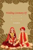 Fotografie Indische Paare in Kanyadan Trauung von Indien